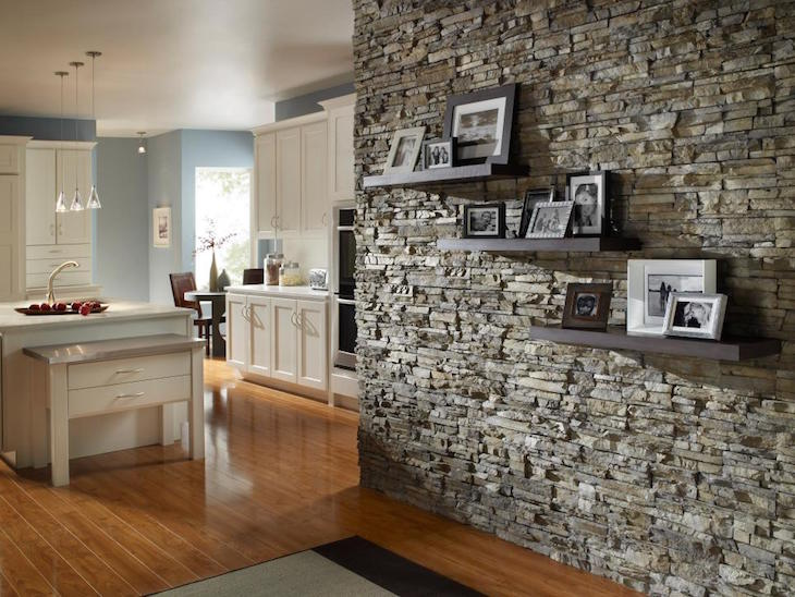 Superbe Stone Accent Wall Ideas