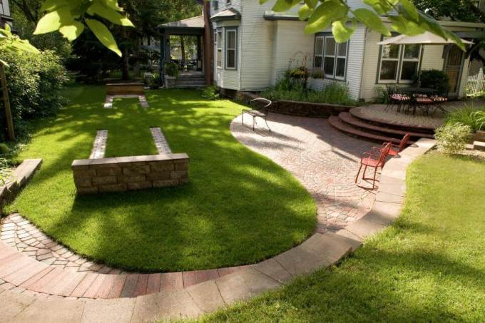 Paver Patio Ideas Game Time Photo By John Wiese Photography - harpmagazine.com