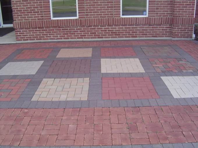 Paver Patio Ideas Basket Weave Pattern - harpmagazine.com