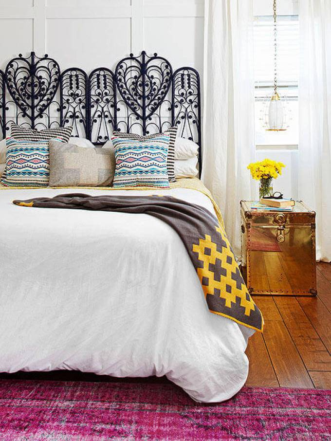Master Bedroom Decor Ideas - Vintage Verve - Harpmagazine.com