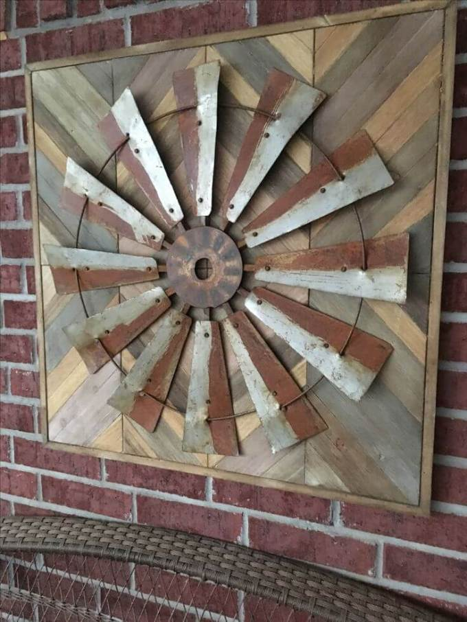 Farmhouse Porch Decorating Ideas - Artful Prairie Mill Porch Display - Harpmagazine.com
