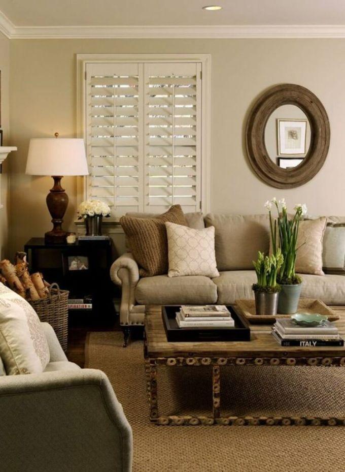 Rustic Chic Living Rooms Ideas - Hardwood Italian Chic - harpmagazine.com