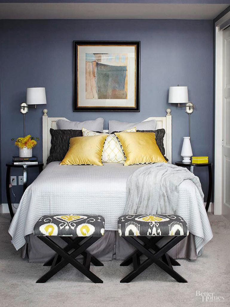 Modern Master Bedroom Decor Ideas - Pleasing Palette - Harpmagazine.com