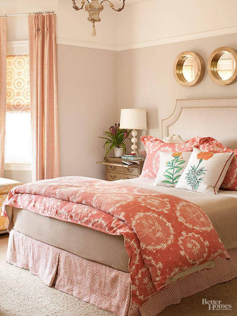 Master Bedroom Decor Ideas - Pops of Pattern - Harpmagazine.com