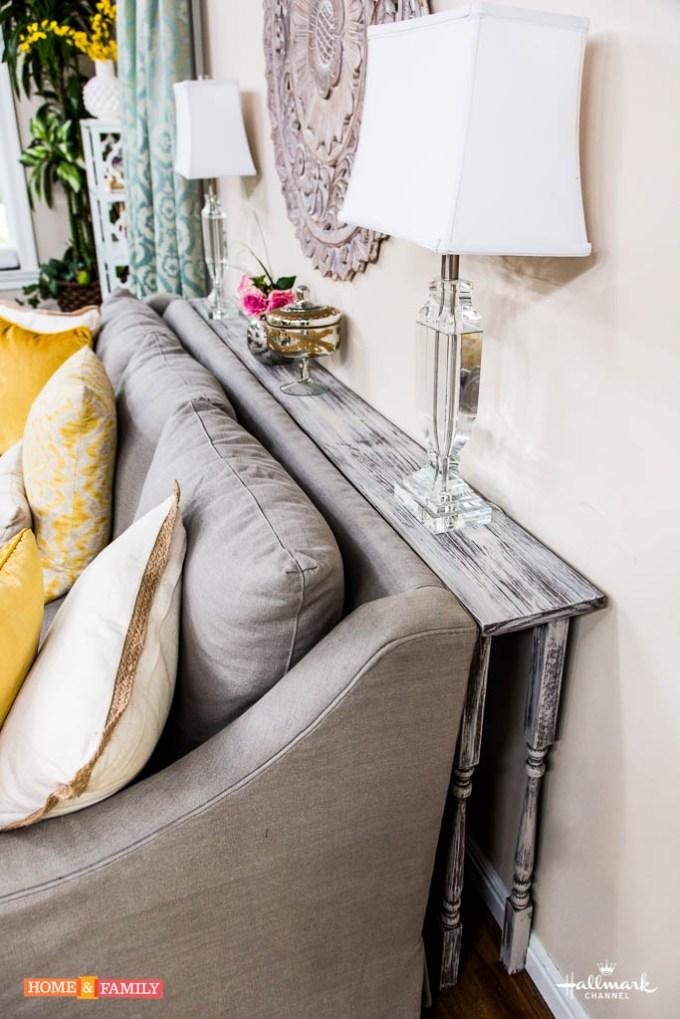 Rustic Chic Living Rooms Ideas - Soft Rustic Driftwood Living Room - harpmagazine.com