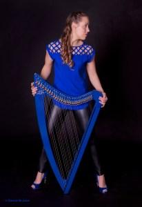 Electric Harpist, Nichole Rohrbach McKenzie