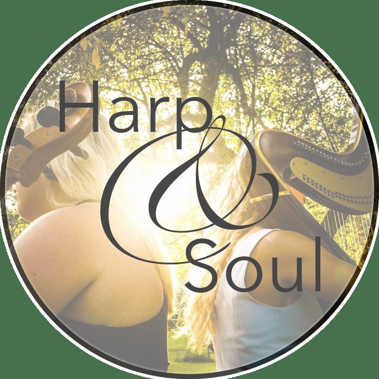 Harp and Soul Logo Nichole Rohrbach McKenzie Professional Harpist