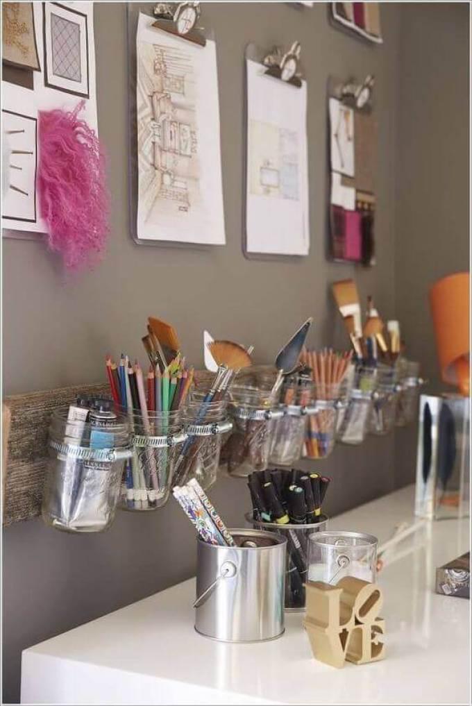 A DIY Workstation for Girls Bedroom Ideas - Harppost.com