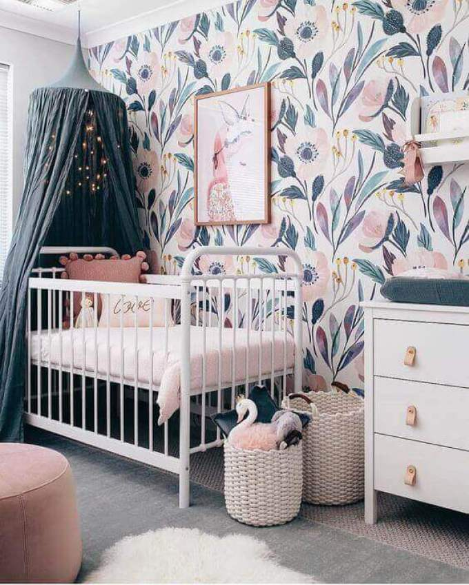 Baby Room Ideas Beautiful Wall Paint for Baby Girl Room - Harppost.com
