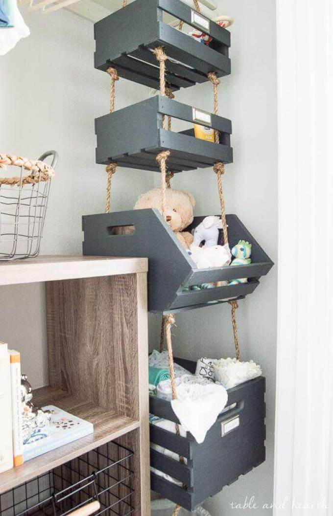 Baby Room Ideas Creative Storage for Small Baby Room Ideas - Harppost.com