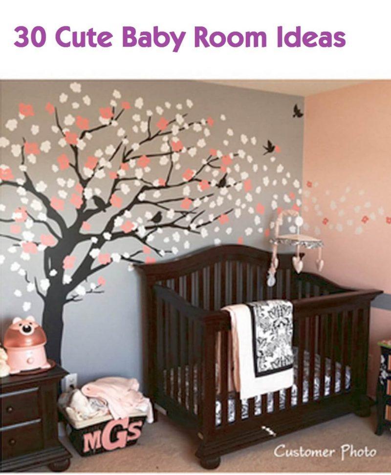 27 cute baby room ideas nursery decor for boy girl and unisex rh harppost com cute unisex baby room ideas cute baby girl room decorating ideas
