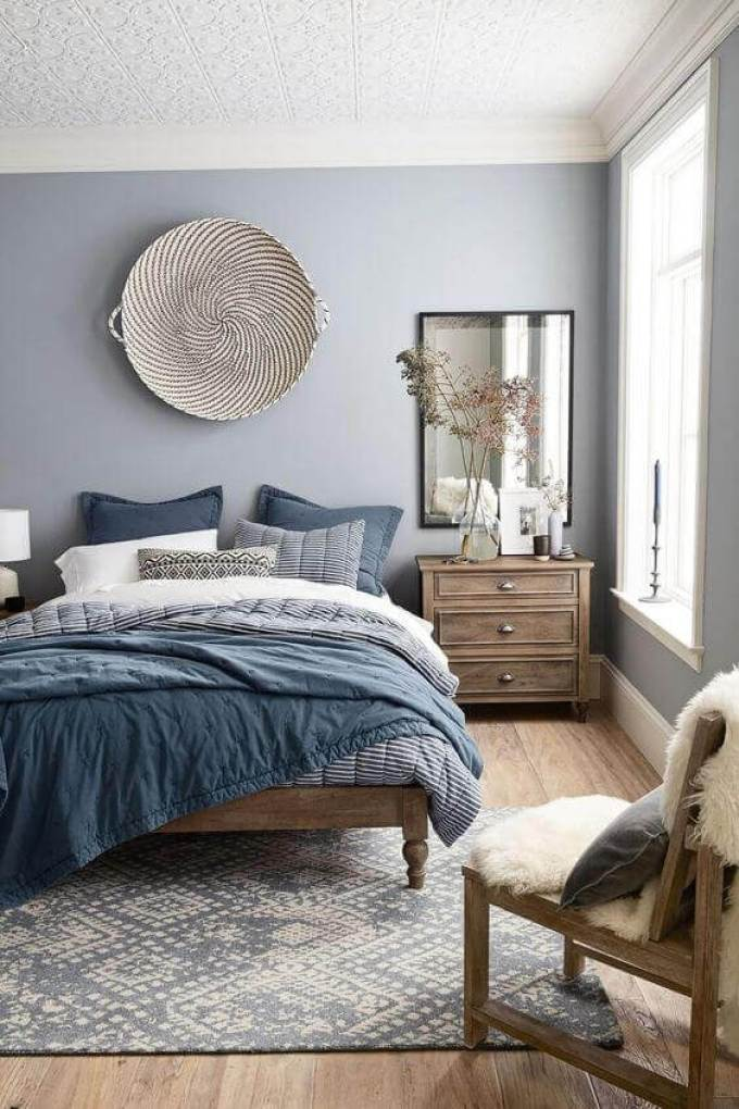 Bedroom Paint Colors I Feel Blue - Harppost.com