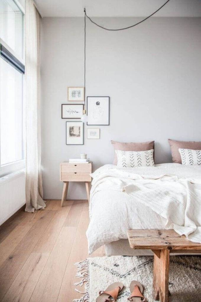 Bedroom Paint Colors Soothing and Relaxing Grey and White - Harppost.com