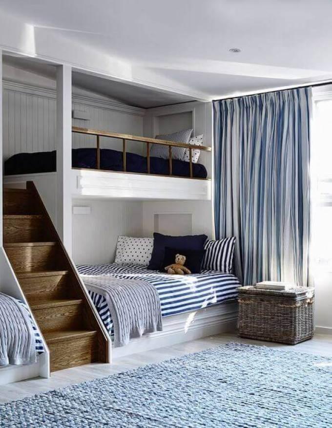 Boys Bedroom Ideas Custom-Made Bunk Beds - Harppost.com