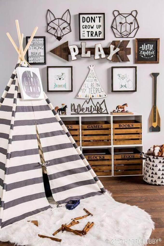 Boys Bedroom Ideas Go Camping - Harppost.com