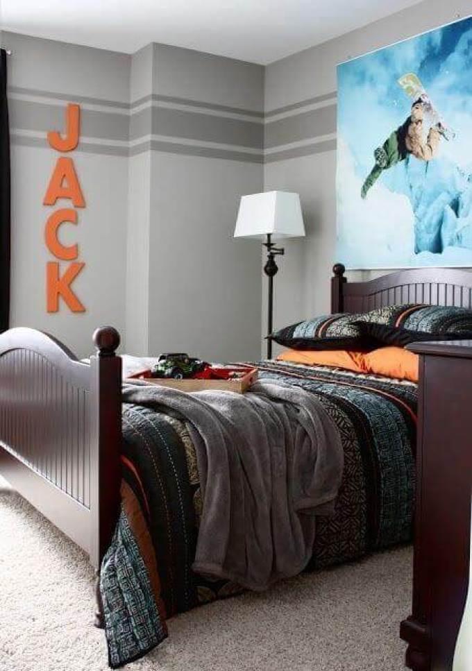 Boys Bedroom Ideas Grand Bedroom for Big Boys - Harppost.com