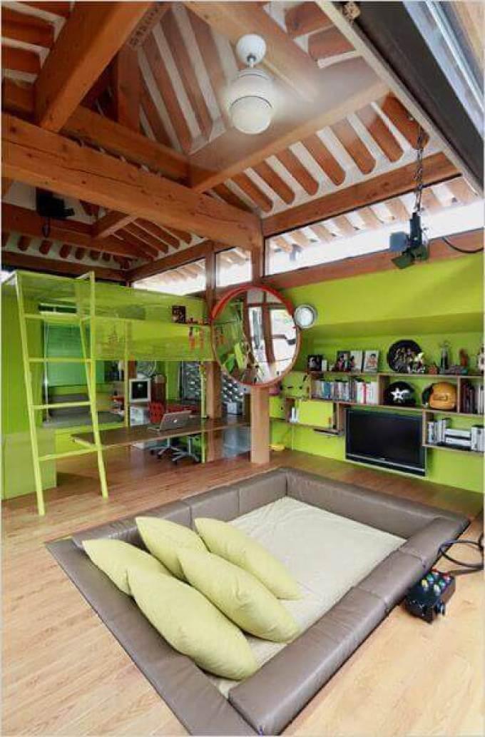 Boys Bedroom Ideas Greeny Sunken Retreat - Harppost.com
