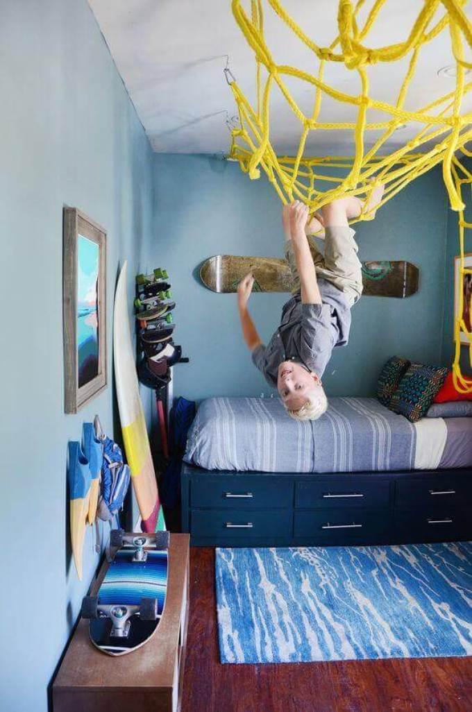 Boys Bedroom Ideas Sporty Playground - Harppost.com