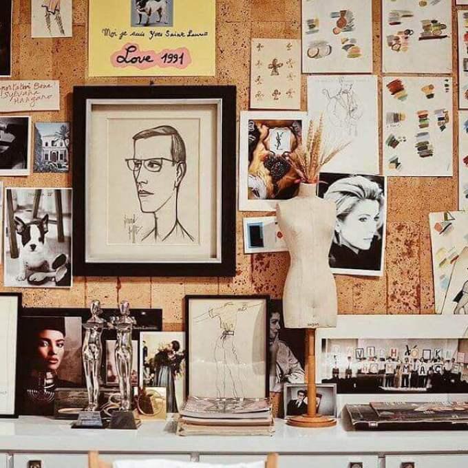 Cork Board Ideas Perfect Wall Gallery - Harppost.com