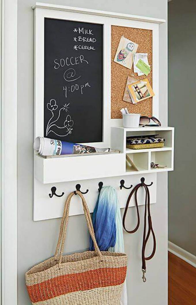 Cork Board Ideas for Your Mudroom - Harppost.com