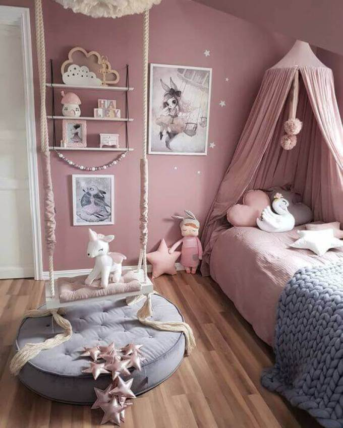Fantasy-Themed Girls Bedroom Ideas - Harppost.com