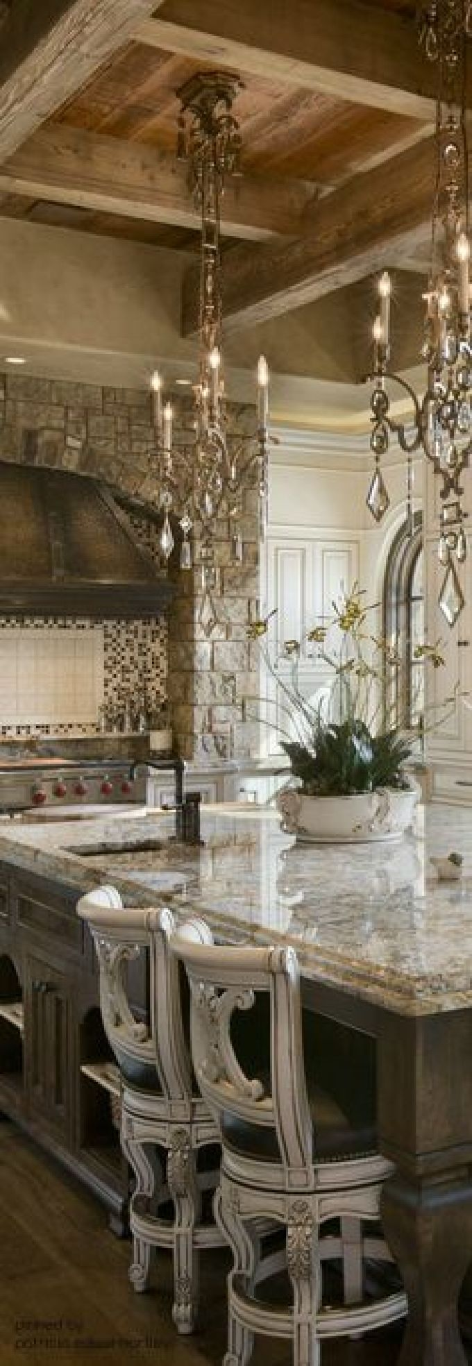 French Country Decor Stunning Marble Countertop - Harppost.com