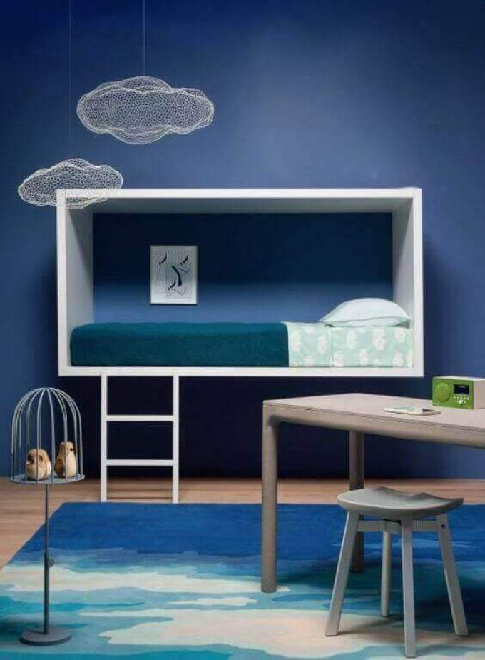 Kids Bedroom Ideas Full of Clouds - Harppost.com