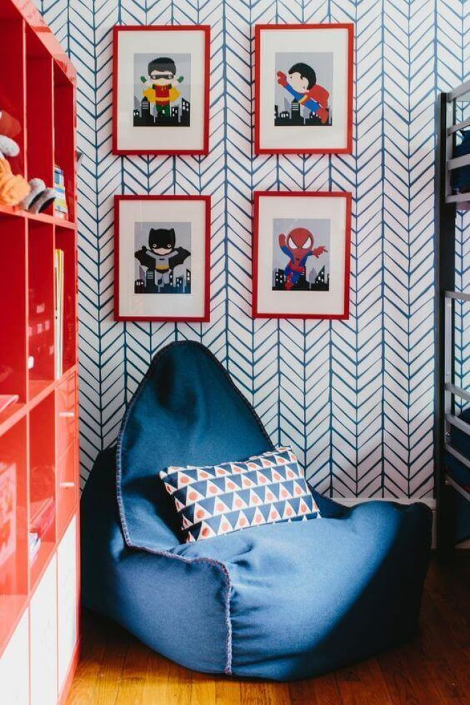 Kids Bedroom Ideas Superhero Fantasy - Harppost.com