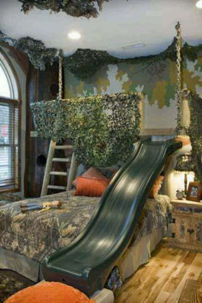 Kids Bedroom Ideas Whimsical Forest - Harppost.com