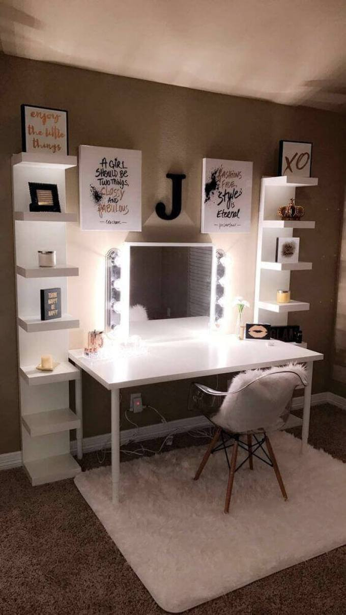 Makeup Room Ideas with Quotes - Harppost.com