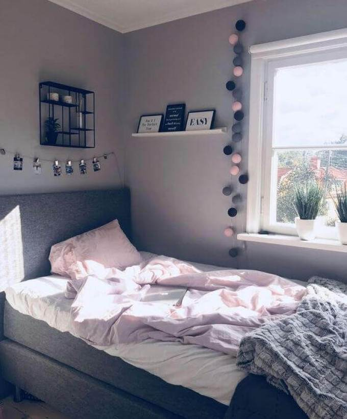 Minimalist Girls Bedroom Ideas - Harppost.com