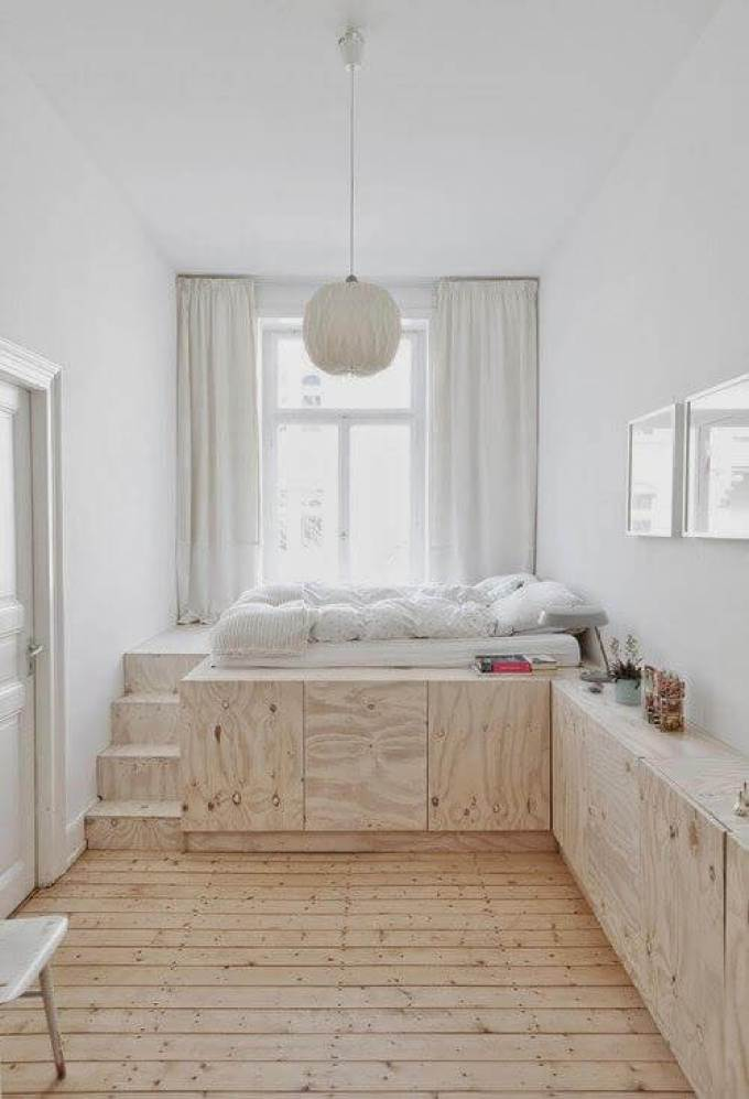 Small Bedroom Ideas in Window Area - Harppost.com