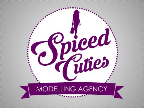Logo design for Spiced Cuties, a modelling agency.