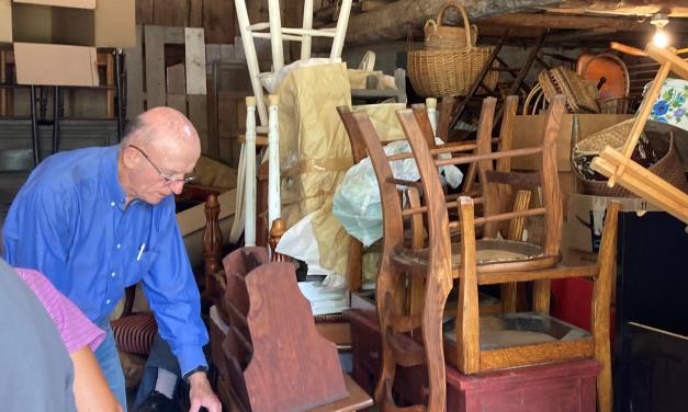 Barn sale preparations underway
