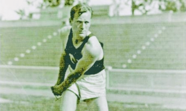 Bailey Island lobsterman medaled in hammer throw at 1928 Olympics