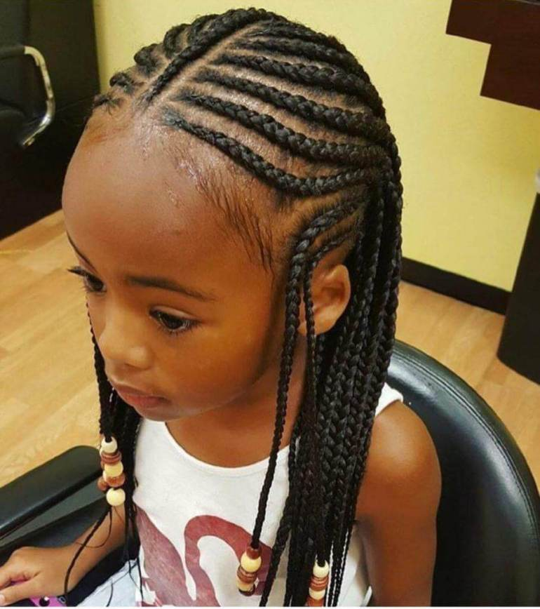 1. Kids Hairstyle Braid - Harptimes.com