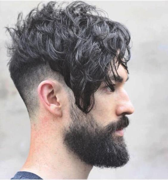 Best Medium Length Hairstyles Men - Modern Asymmetrical Hairstyles - Harptimes.com