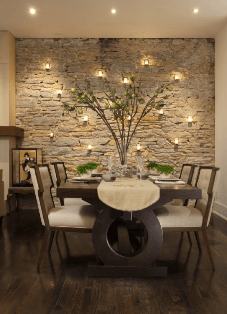 Accent Wall Ideas for Dining Room Fabulous Dining Room Wall Décor - Harptimes.com