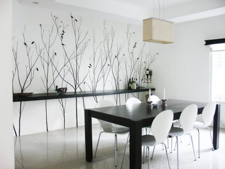 Dining Room Wall Decor Less Is More