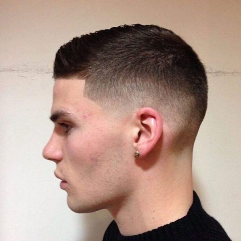 2. Military Haircut Fade Styles - Harptimes.com