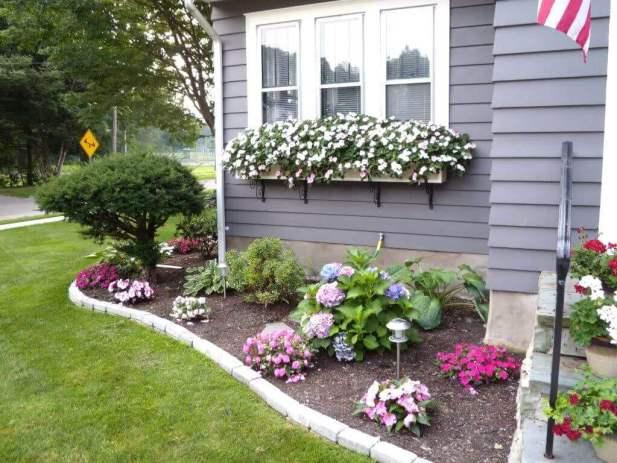 Front Yard Landscaping Ideas - Redeem the Plain Windows - Harptimes.com
