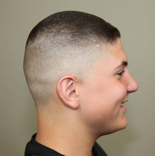 3. High and tight military haircut styles - Harptimes.com