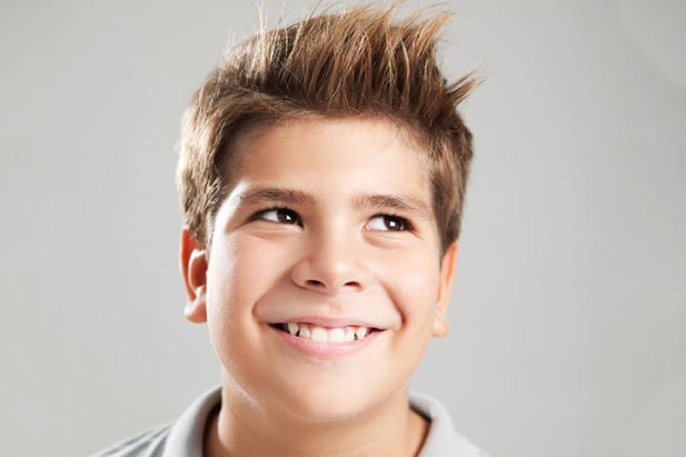10. Brushed Up Kids Hairstyle Boys - Harptimes.com