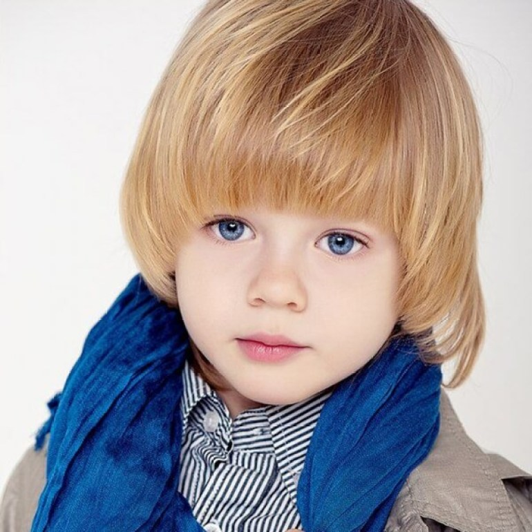 16. Bowl Cut For Kids Hairstyles Boy go school -Harptimes.com