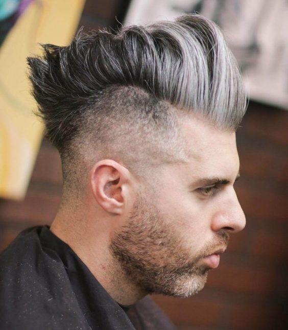 Top Medium Length Hairstyles Men - Medium Length Mohawk for Men - Harptimes.com