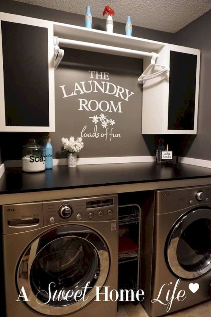 Best Small Laundry Room Ideas Organization - Harptimes.com