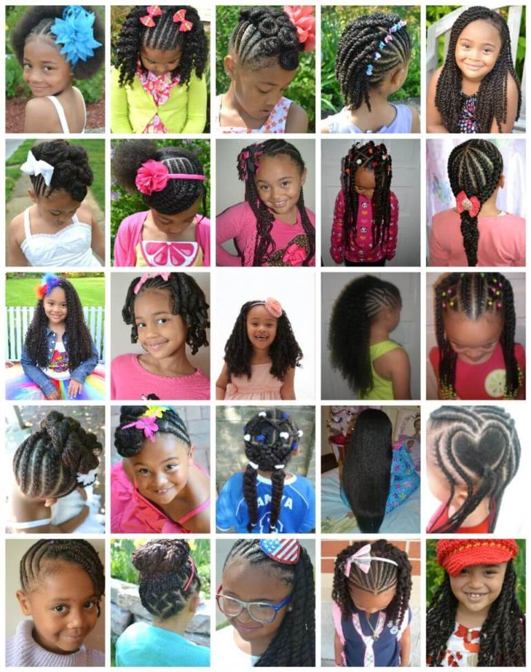 5. Recommended Black Kids Hairstyles - Harptimes.com