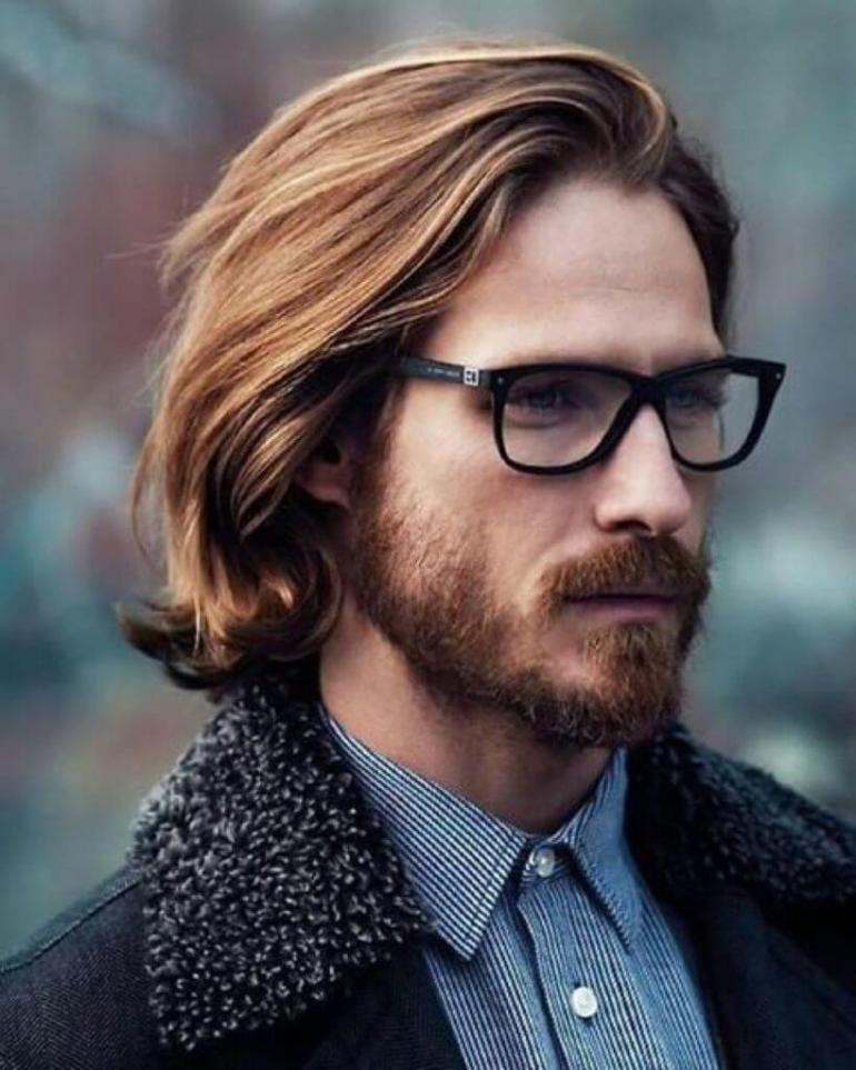 Long Hairstyles for Men - Hockey Flow Hairstyle - Harptimes.com