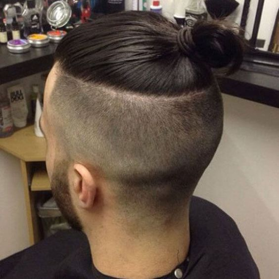 Long Hairstyles for Men - The Top Knot Hairstyle - Harptimes.com