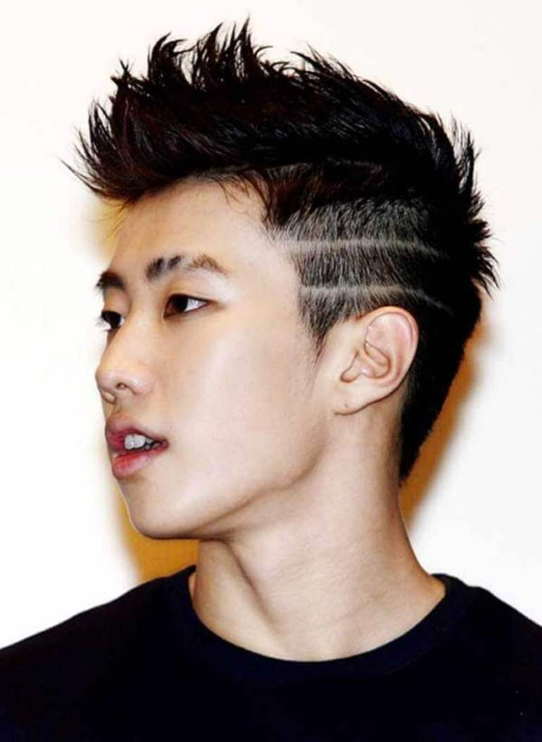 Asian Hairstyles Men The Chinese Fade - Harptimes.com